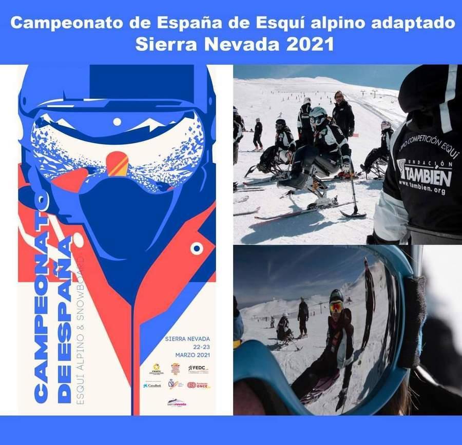 Campeontao España Esquí Alpino Adaptado 2021 en Sierra Nevada