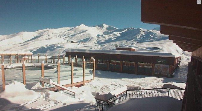 Llega la nieve a Los Tres Valles