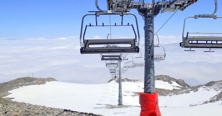 Porteo y esquí en La Pierre Saint-Martin