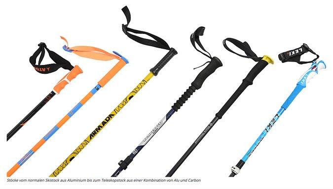 Cómo elegir tus bastones de ski