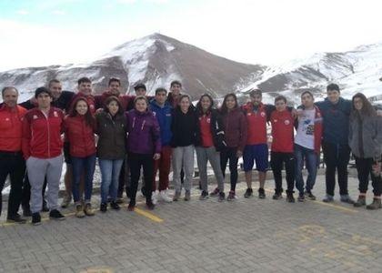 Equipo Nacional de Judo entrena en Valle Nevado para los Juegos Sudamericanos