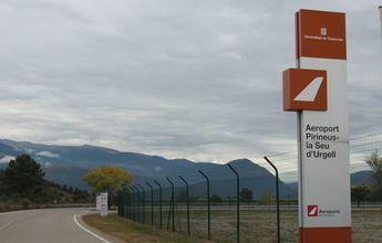 El Aeropuerto de la Seu d'Urgell continua sin el GPS