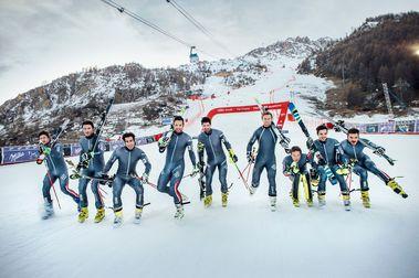 Selección Oficial de esquí alpino de Francia para la temporada 2021-2022