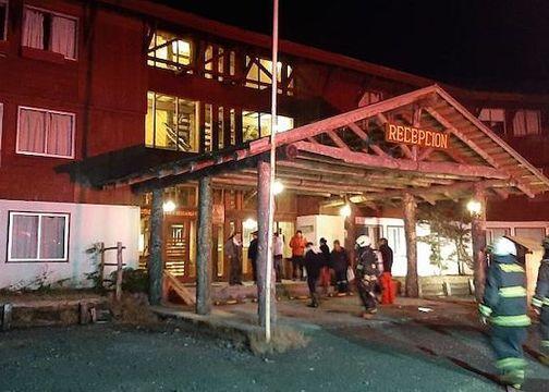 Principio de incendio afectó a Hotel en centro de ski Antillanca