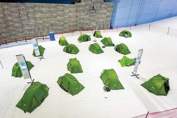 Tiendas de campaña Ski Dubai