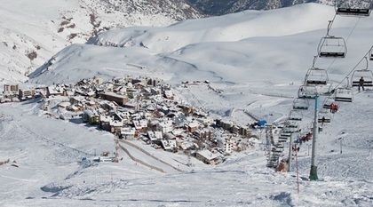 Extraordinaria nieve en La Parva