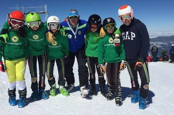 El Panticosa Ski Club ya entrena en nieve