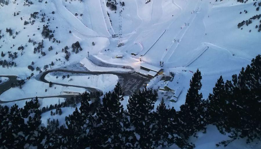 Aparcamiento en Vallter 2000