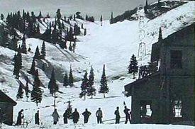 Pequeña historia de la estacion de Snowbasin.<br />   <em>Snowbasin Resort, A brief history. </em>