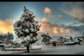Intensa nevada en Cerro Catedral