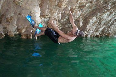 Escalando sobre el agua