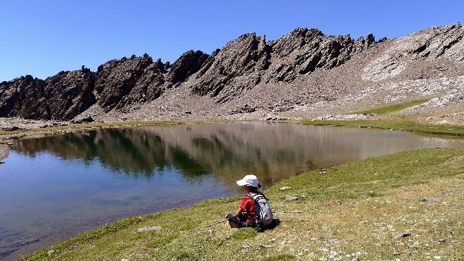 A la Laguna de Río Seco con niños