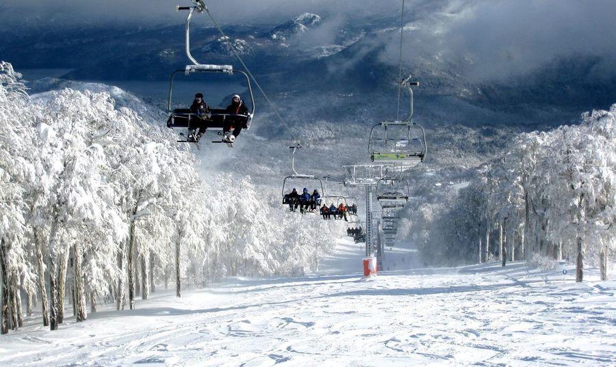 Estacion de esquí en Argentina