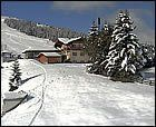 Llega la nieve a los Alpes