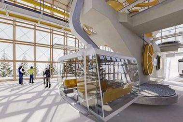 110 millones de euros para el espectacular nuevo teleférico de Grands-Montets