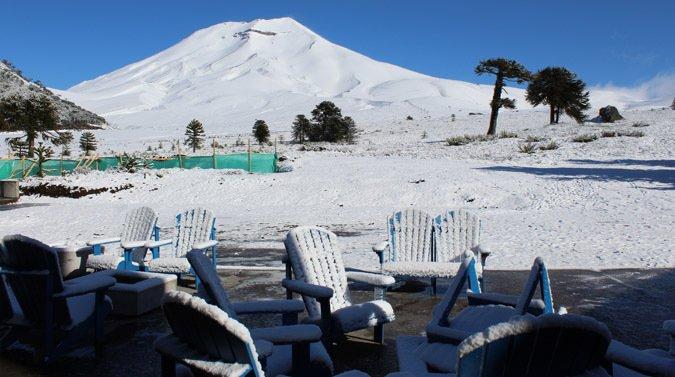 Vuelve a nevar en Corra
