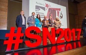 Premiados en la II Gala del Deporte Blanco de Granada