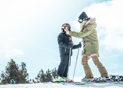 Consejos para esquiar con niños