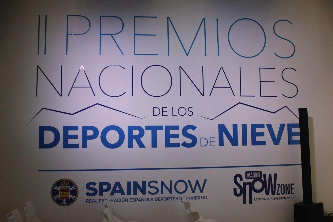 II GALA PREMIOS SPAINSNOW