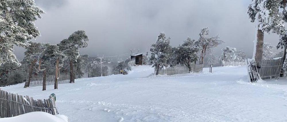 Navacerrada abre su estación de esquí este viernes 22 de noviembre