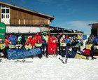 Curso de esquí alpino en Sierra Nevada de la Fundación Deporte y Desafío