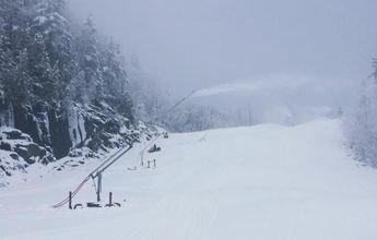 Así han saboteado un sistema de nieve artificial en Canadá