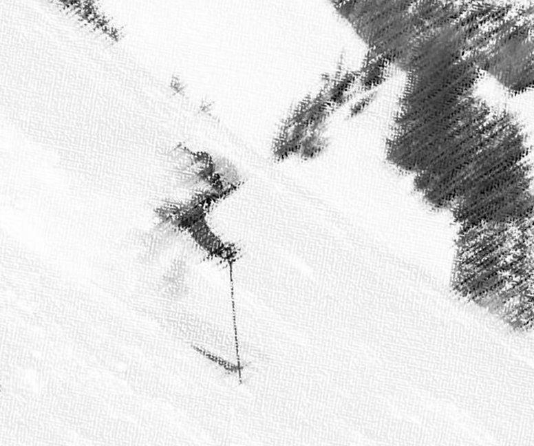 fluir en el esquí X