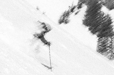 ¿Se puede mejorar la confianza al esquiar?