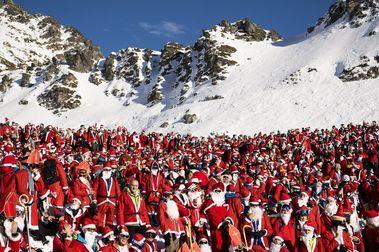 Verbier, navidad de récord Guinness