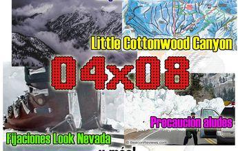 04x08 Esquiar en Utah, precaución aludes, fijaciones look y más!