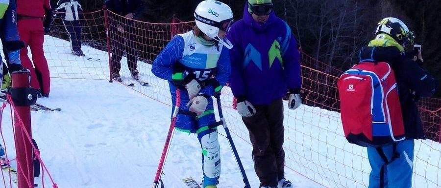Segunda jornada de la Copa del Mundo IPC de esquí alpino en Tervisio
