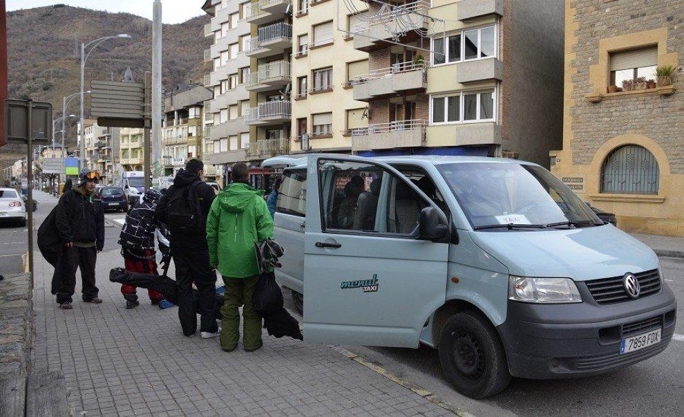 Skibus Pallars Port Aine y Espot
