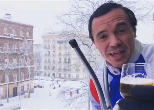 Fabiolo: el 'pijo de balcón' que nos divirtió con Filomena