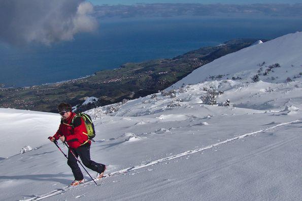 Madrileños, así esquiamos en Asturias