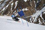 Astun con el Esquí Adaptado