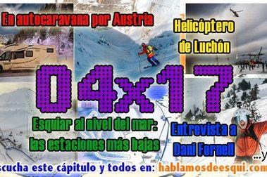 04x17 Esquiar en autocaravana, estaciones a nivel del mar... ¡y más!