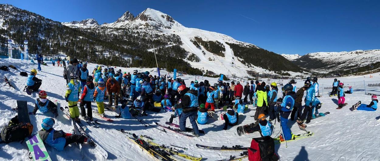 España, Francia y Andorra se enfrentan en el 3 Nations Freestyle Tour