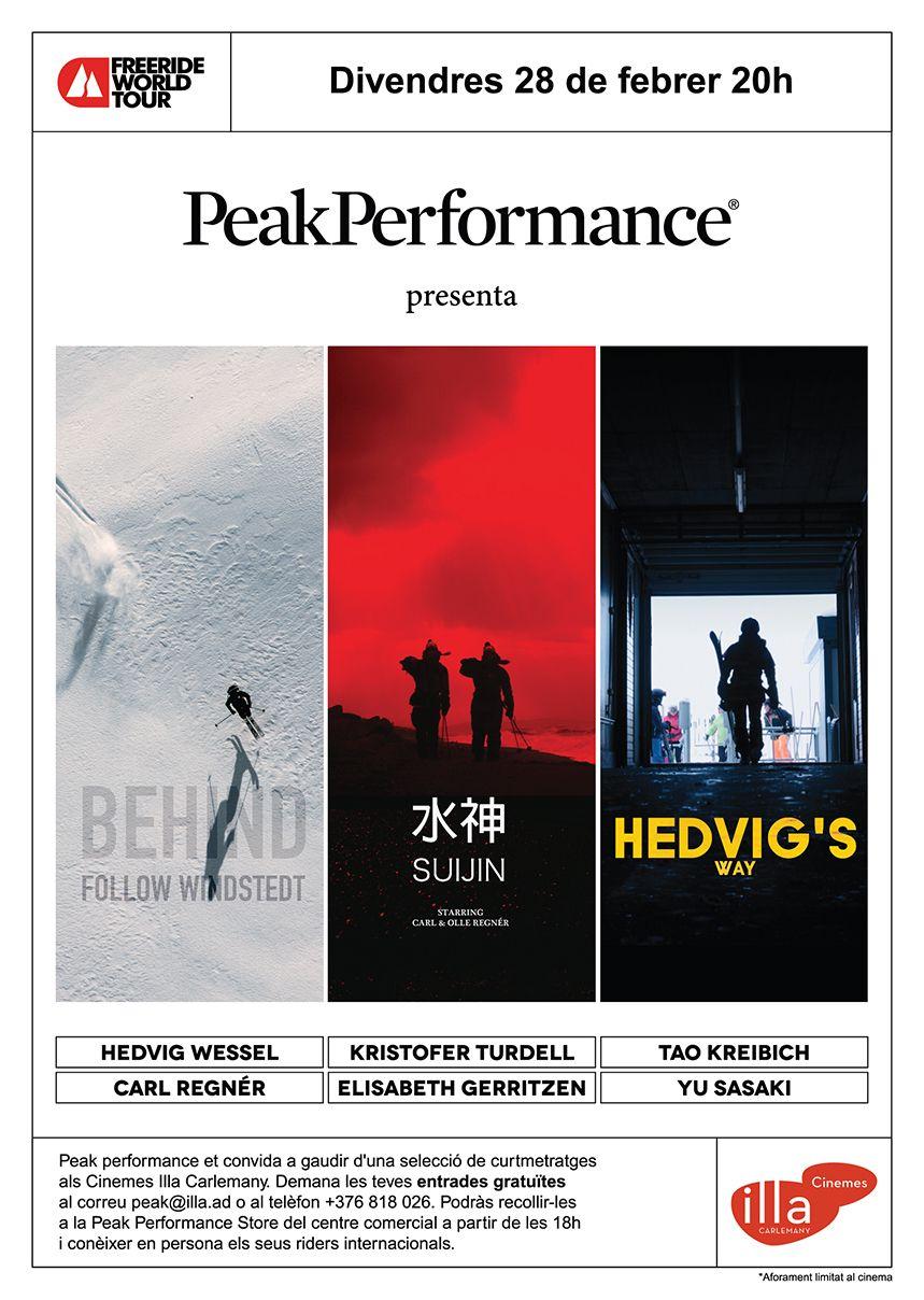 Flyer Peak Performance Andorra