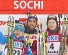 Martin Fourcade arrasa en Sochi