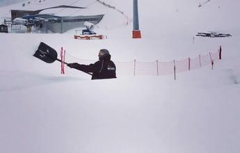 Casi tres metros de nieve en Boí Taull para Semana Santa