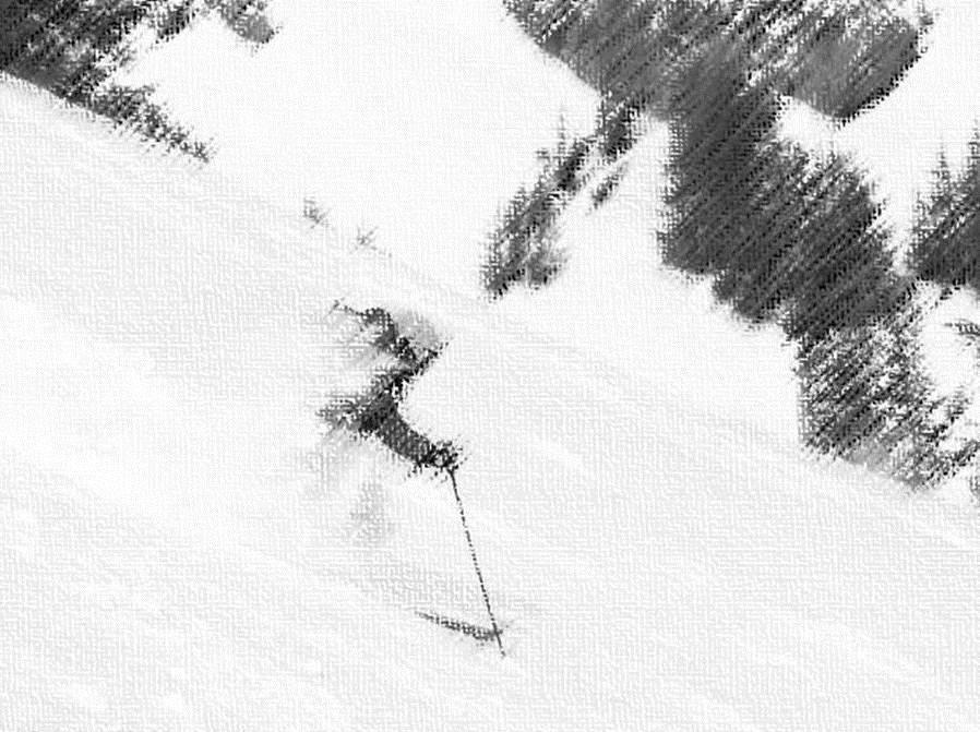 fluir en el esquí foto 2
