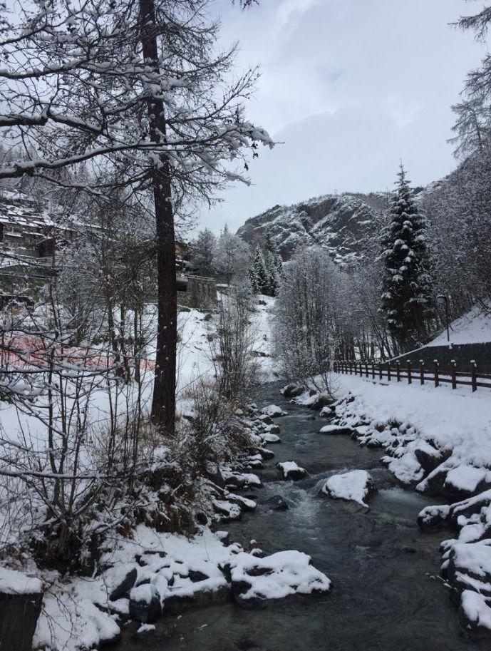 Partiendo la pana en Valtournenche. Marzo 19
