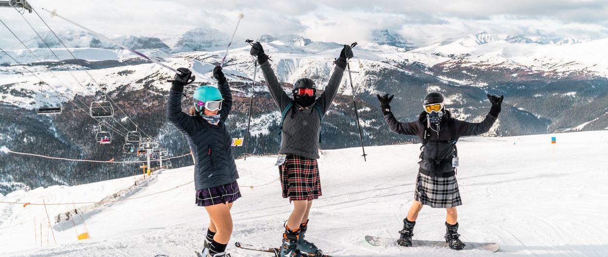 Escocia mantiene su temporada de esquí abierta
