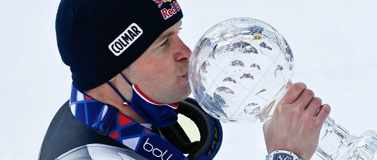 Pinturault es el nuevo campeón de la Copa del Mundo de esquí alpino