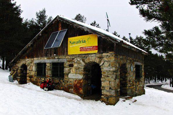 Mi estreno en el esquí de fondo