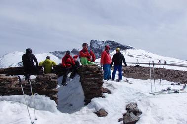 Esquí primaveral en Sierra Nevada