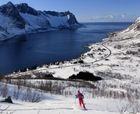 Esquí de montaña en Senja - La isla