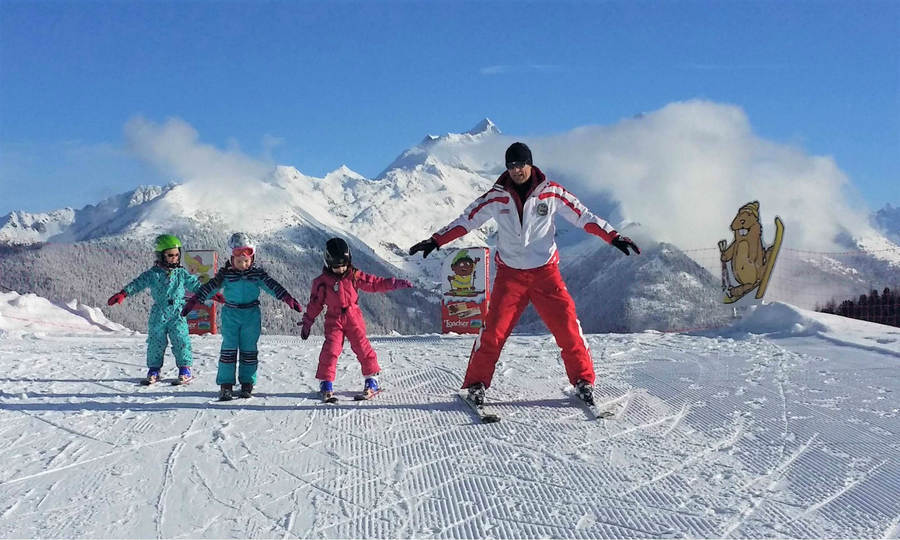 Profesores de esqui en Italia
