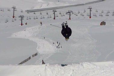 Otro día más de esquí... y los que quedan!