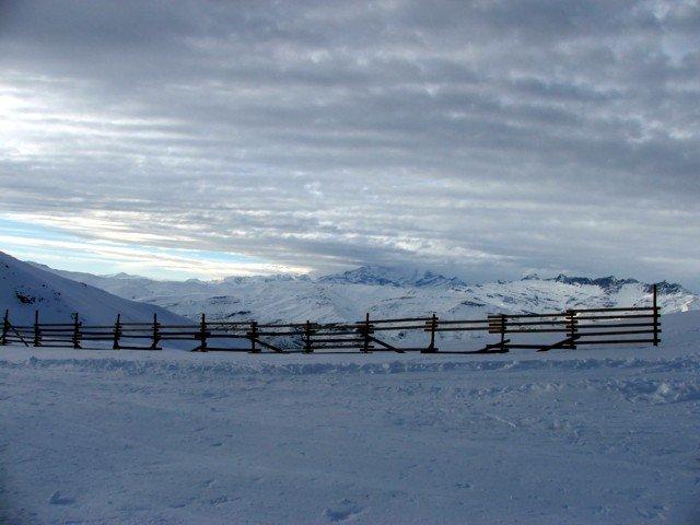 Mirando desde Alto Pancho hacia Los Tres Valles